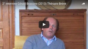 Interview de Gérald Brassine sur la Thérapie Brève