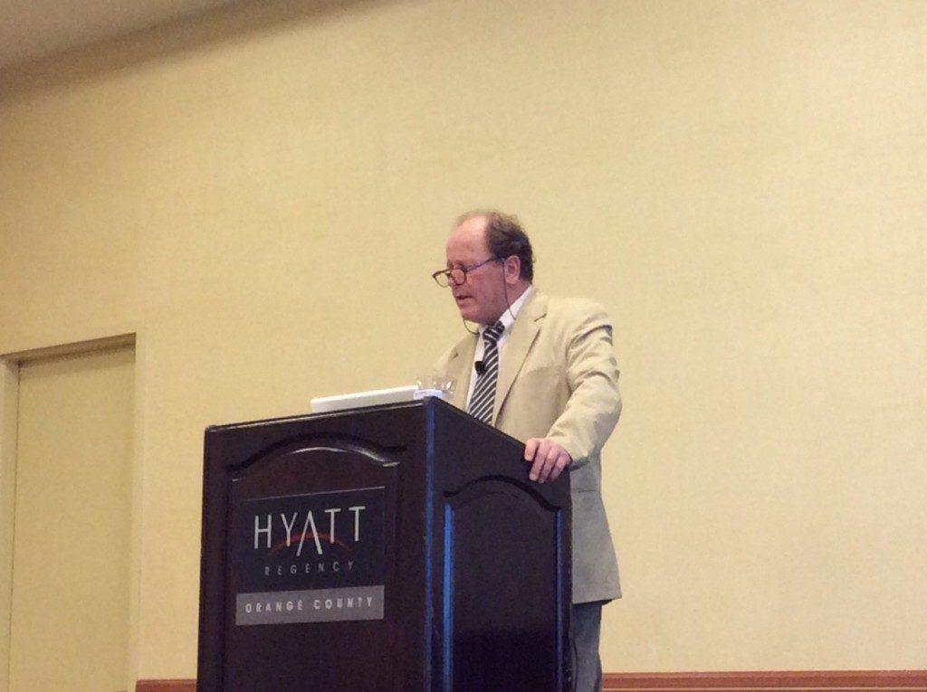 Gérald Brassine présente la TPR à la conférence de Los Angeles