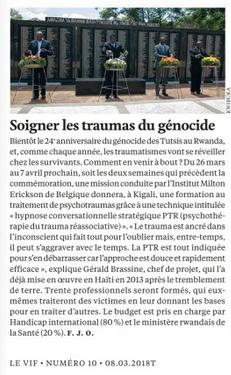 Soigner les traumas du génocide - Rwanda