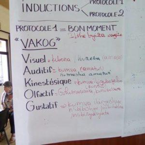 Rwanda mars-avril 2018, formation PTR