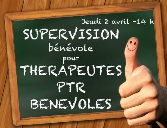 Supervision bénévole pour Thérapeutes PTR bénévoles